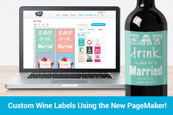 Custom Wine Labels Using the New PageMaker!