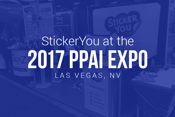 StickerYou at the 2017 PPAI Expo