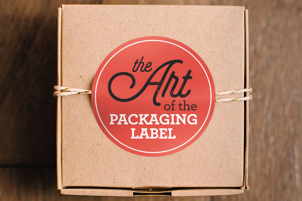 custom package label
