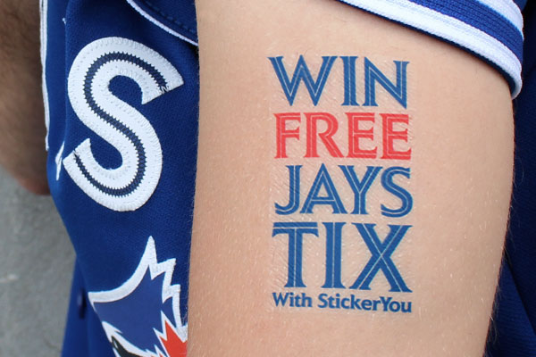 Win Free Jays Tickets