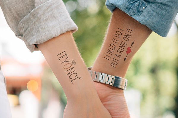 Engagement Tatttoos