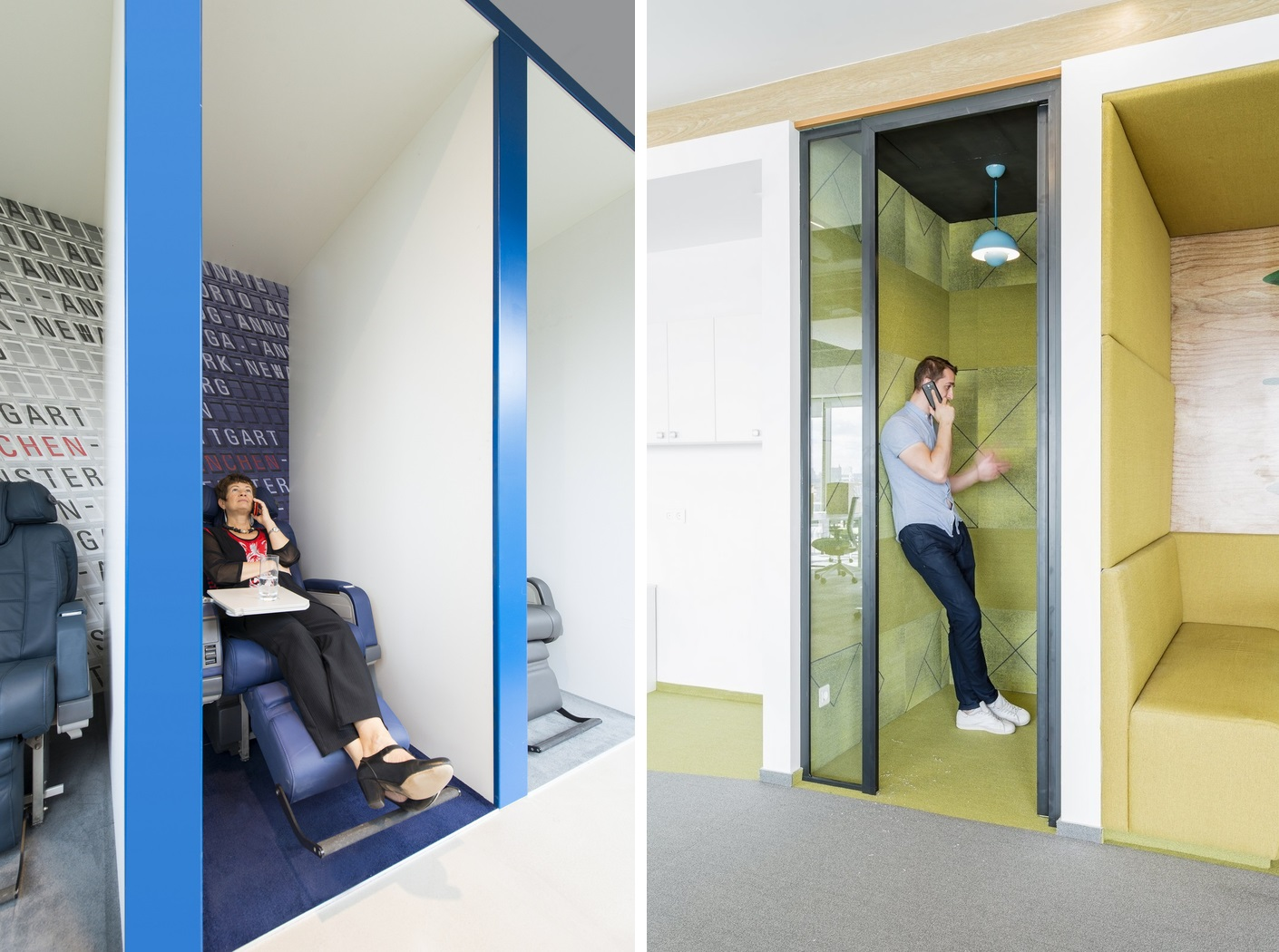 Privacy booths