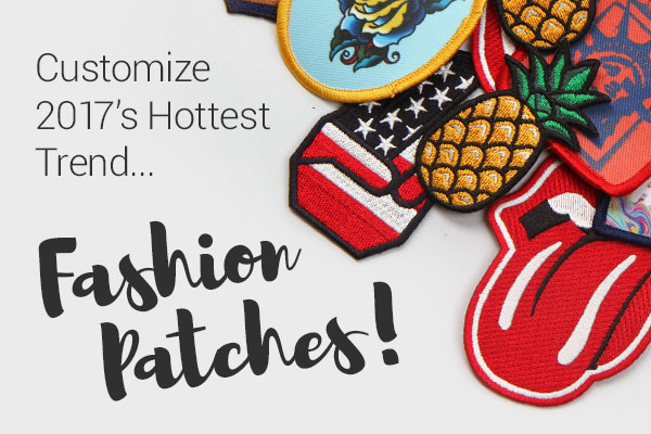 Customize 2017's Hottest Trend... Fashion Patches | StickerYou Blog