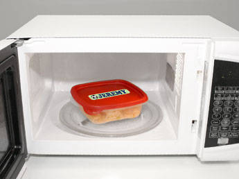 How to remove built in microwave oven