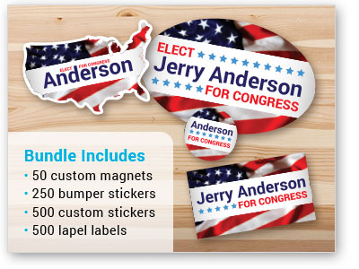 Custom Products for Political Campaigns