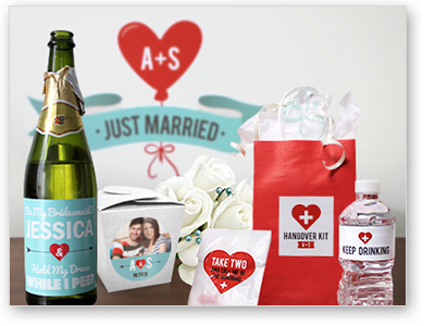 StickerYou Custom Wedding Products