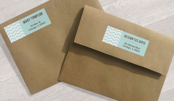 How To Label A Wedding Gift Envelope : Address Labels, Shipping Labels, Mailing Labels StickerYou Products