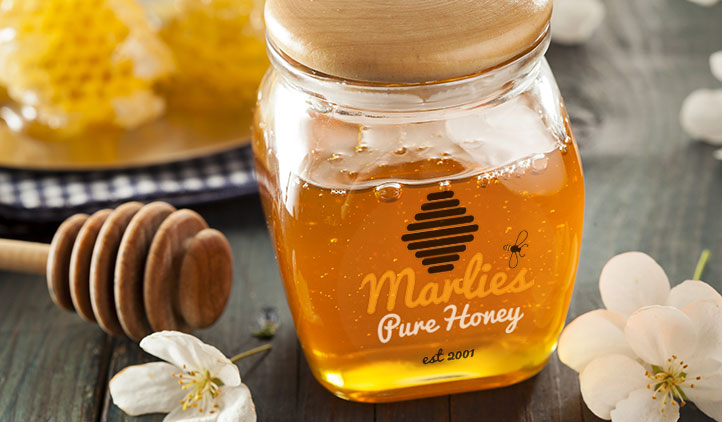 DIY Food Labels, Honey Labels