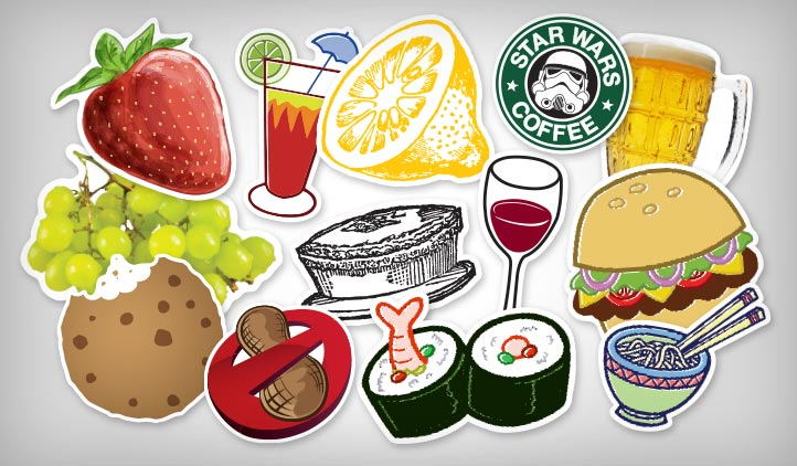 Food & Drink Stickers