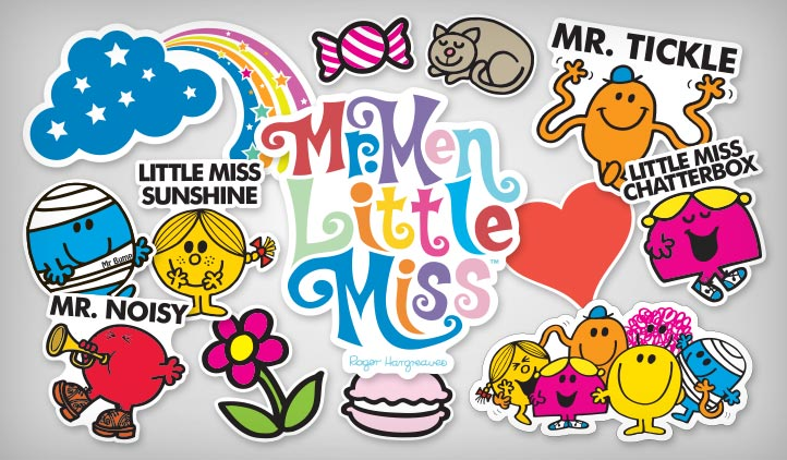 Mr Men And Little Miss Birthday Decorations