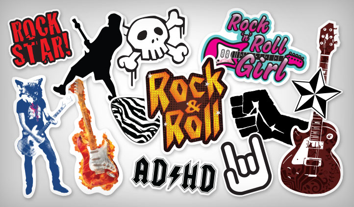 Rock Stickers Stickeryou Products