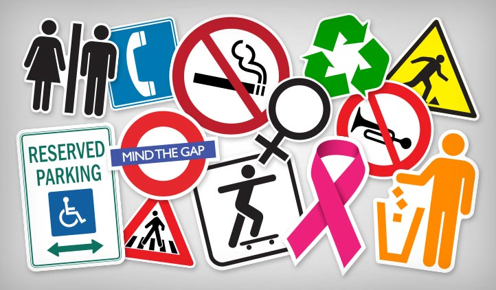 Sign & Symbol Stickers