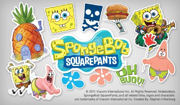 SpongeBob Stickers StickerYou Products - Spongebob car decals