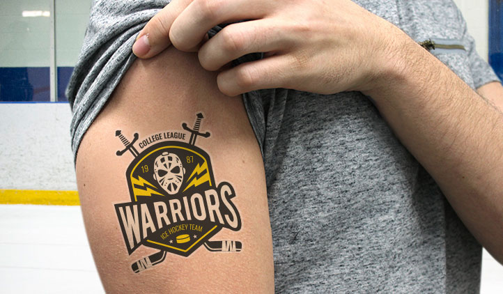 Sports Team Temporary Tattoos
