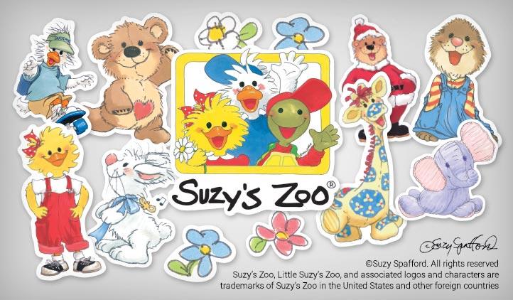 Suzy's Zoo Stickers | StickerYou Products