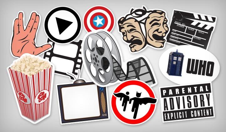 TV & Movie Stickers