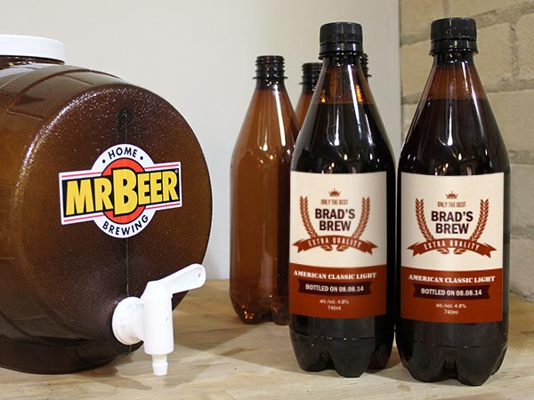 Mr. Beer Custom Labels
