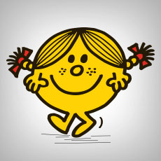 Mr. Men Little Miss Stickers