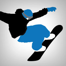Snowboarding Stickers