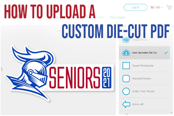 How to Upload a Custom Die-Cut PDF