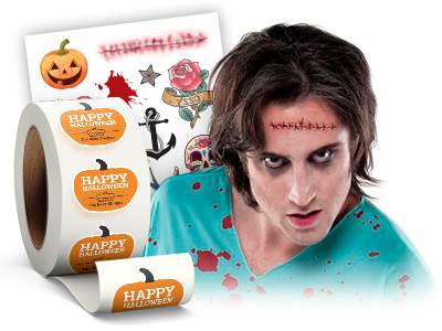 StickerYou Custom Products for Halloween