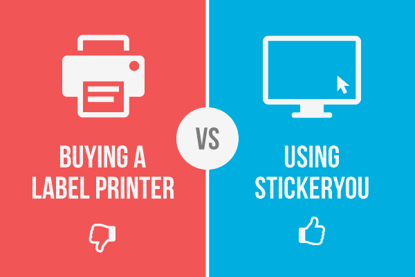 Buying a Label Printer vs Using StickerYou | StickerYou Blog