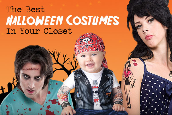 DIY Halloween costumes  sc 1 st  StickerYou & The Best Halloween Costumes in Your Closet - StickerYou