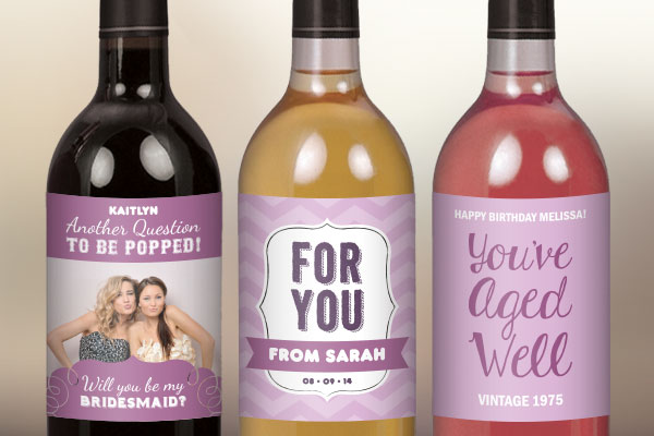 Design Your Own Wine Labels
