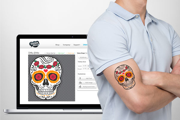 TIPS for Designing Temporary Tattoos