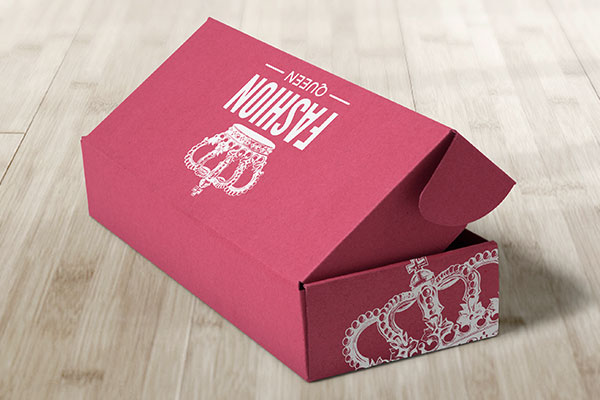 If you run a small business and cannot budget the added expense of specialty boxes then you can always custom brand the boxes yourself with custom stickers