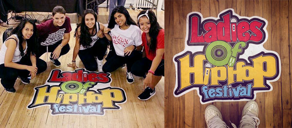 StickerYou Custom Floor Decal Ladies of Hip Hop Festival