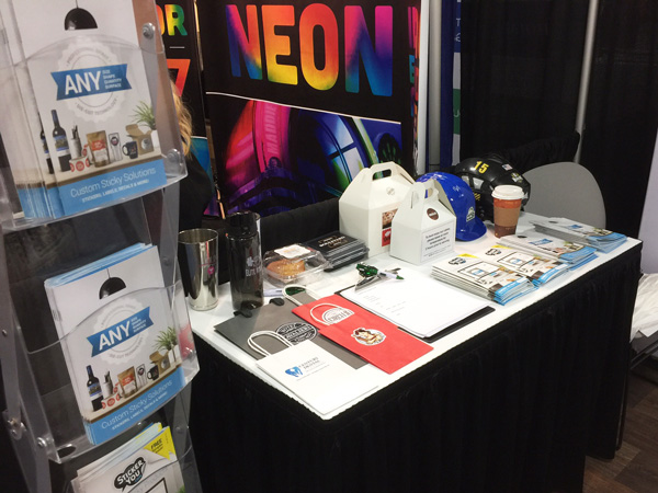 StickerYou Trade Show Samples and Catalogs at PPAI Expo 2017