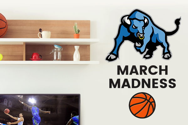 March Madness Custom Wall Decals