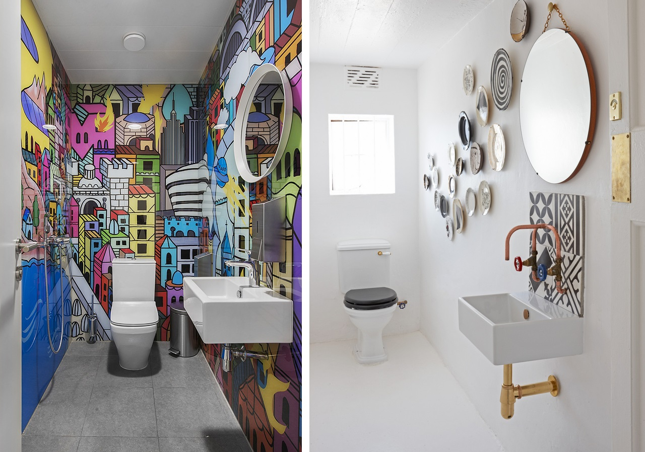Creative restroom designs