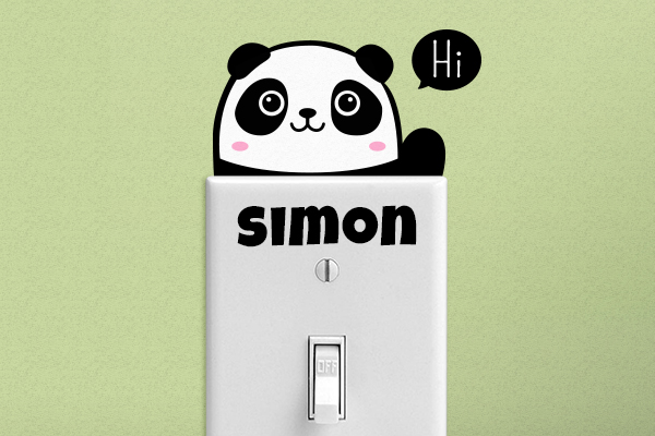 Custom Stickers Lightswitch