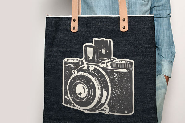 Custom Iron-on Tote Bag