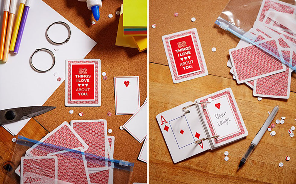 Playing Card DIY Book