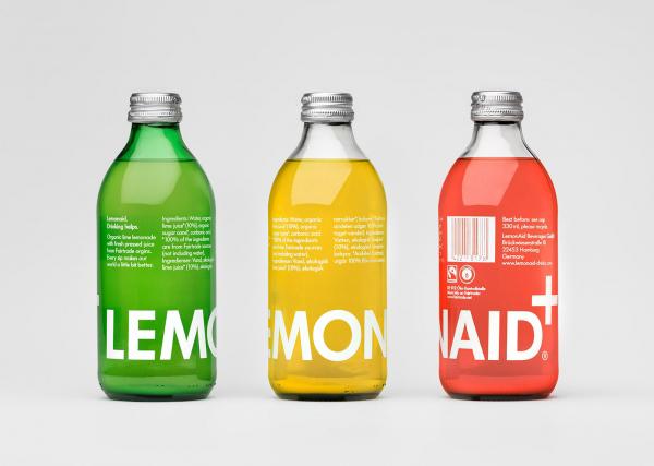 Clear custom bottle labels