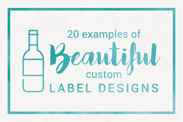 20 Examples of Beautiful Custom Label Designs