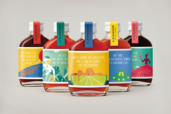 Colorful Custom Label Design