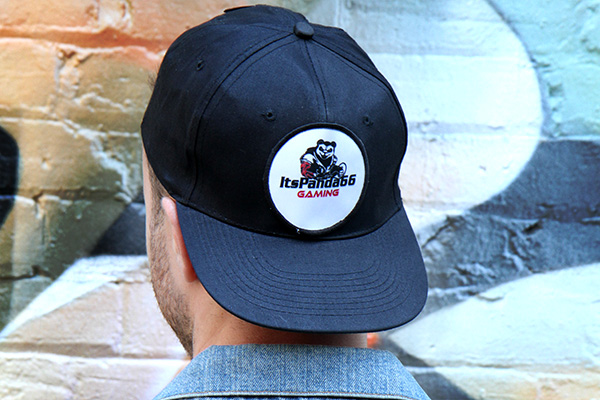 Hat with custom patch