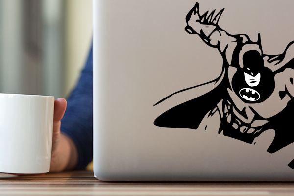 custom macbook decal batman