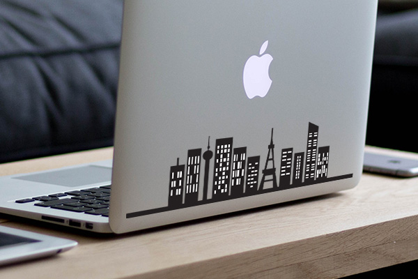 Custom macbook decals and stickers