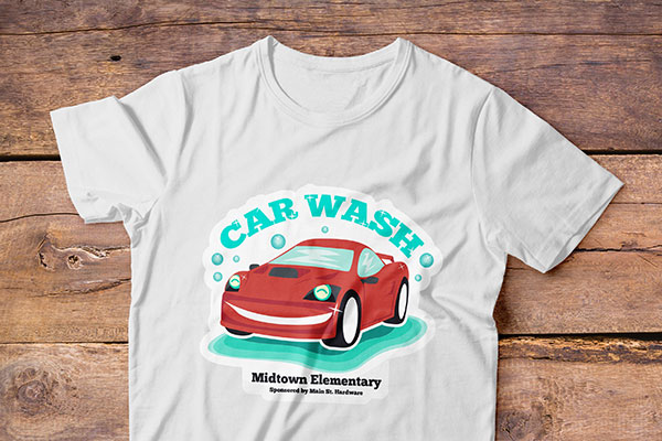 vintage car wash fundraiser