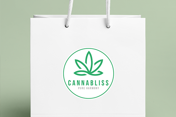 Cannabis branded gift with purchase