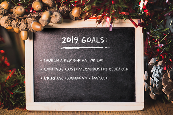 Setting 2019 business goals