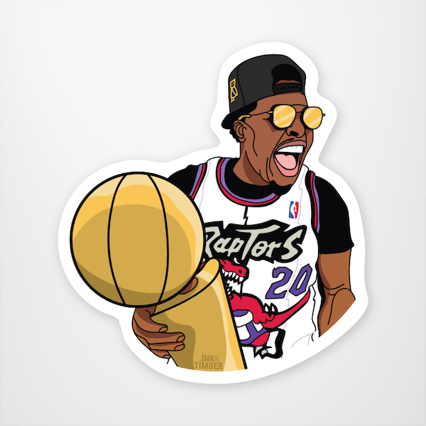 """Call Me Champion"" Sticker"