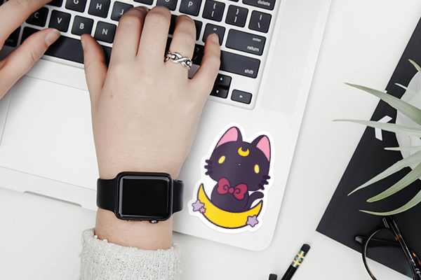 Appleminte Luna Sticker