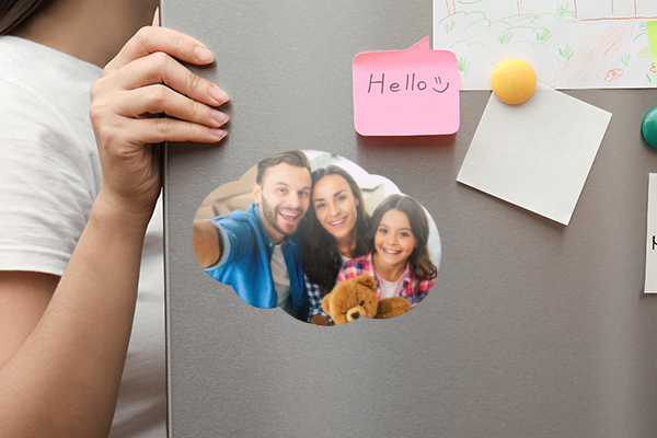 Relive the memories close to you with fridge magnets
