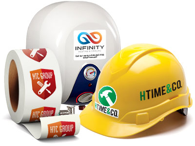 StickerYou custom products for contractors